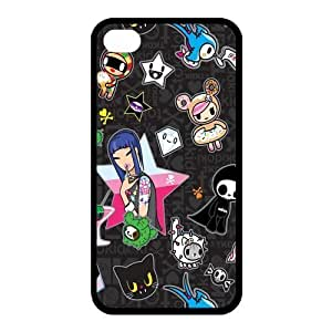 Custom Cartoon Back Cover Case for iphone 4,4S JN4S-483 hjbrhga1544