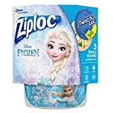 ziploc container twist n loc - Ziploc Brand Twist n' Loc Containers Featuring Disney Frozen Design, Small, 16 oz, 3 ct