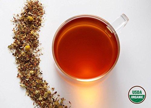 Komo Tea BEDTIME BUDDA Herbal Tea - All Normal & 100% Organic Premium Loose Leaf Tea (2oz / 30 cups)