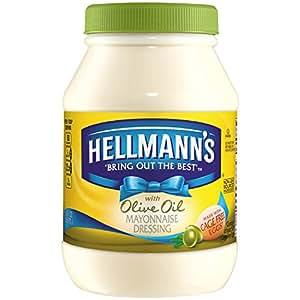 Hellmann's Mayonnaise Dressing, with Olive Oil 30 oz