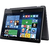 2017 Acer Aspire R15 2-in-1 15.6-Inch Full HD IPS Touchscreen High Performance Laptop PC, Intel Core i5-7200U 2.5GHz, 8GB RAM, 1TB HDD, Backlit Keyboard, Bluetooth, Wi-Fi, HDMI, Windows 10, Steel Gray