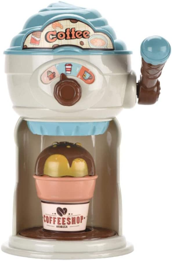 Amazon Com Aueyguse Children S Toy Simulation Coffee Machine Toy Play House Kitchen Toy For Afternoon Tea Diy Production Mini Children S Toy Set For Kids 3 And Up Blue Toys Games