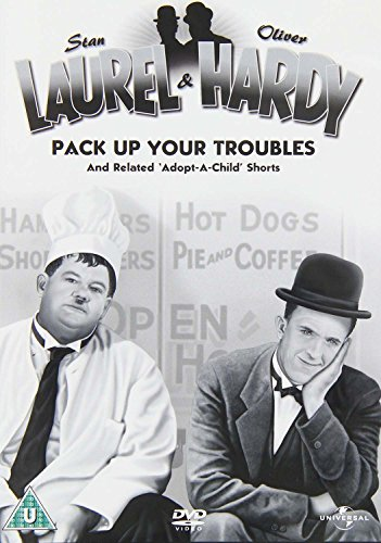 Laurel & Hardy Volume 15 - Pack Up Your Troubles/Related 'Adopt A Child' Shorts [DVD] (Laurel And Hardy Pack Up Your Troubles)