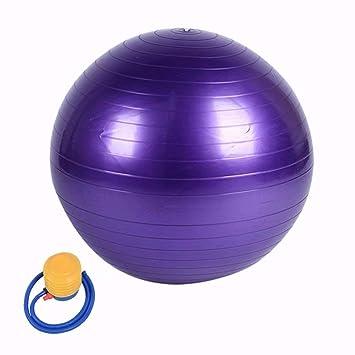 Pelota de gimnasia, pilates, incluye bomba, anti rotura, pelota de ...