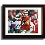 Framed Georgia Bulldogs Quarterback Jake Fromm Autograph Replica Print
