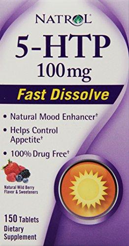 Natrol 5 HTP Disolve Tablets 100mg