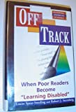 Off Track, Robert J. Sternberg and Louise Spear-Swerling, 0813387566