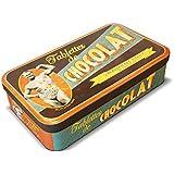 NATIVES 211142 Slip d'Or Boîte pour Tablettes de Chocolat Métal Multicolore 23 x 13 x 5,5 cm