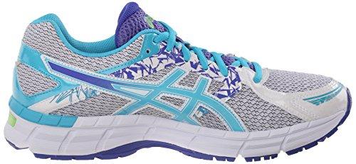 Asics Gel-Excite 3Zapatilla de Running de la mujer White/Scuba Blue/Acai