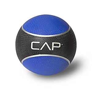Cap Barbell HHKC-006 Medicine Ball, 6 Pounds (Blue)