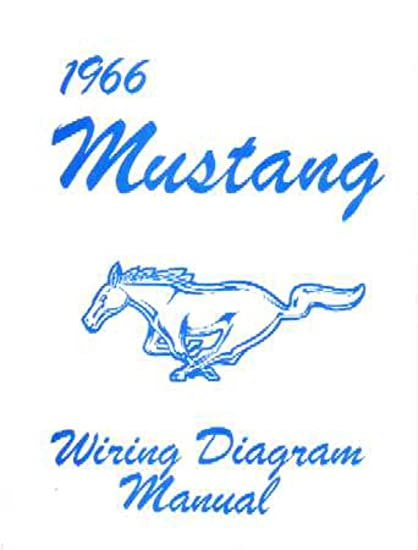 bishko automotive literature 1966 ford mustang electrical wiring diagrams  schematics manual book factory oem