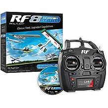 RealFlight RF8 Horizon Hobby Edition: RC Flight Simulator Software DVD with Interlink-X Transmitter Mode 2