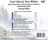 Carl Maria Von Weber: Piano Sonatas Nos. 1 & 2, Invitation to the Dance, Rondo Brillante J252