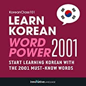 Learn Korean - Word Power 2001 |  Innovative Language Learning