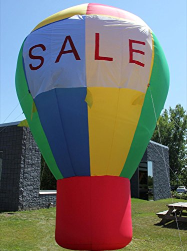 20 Foot Promotional Advertising Inflatable Hot Air Style Balloon - Rainbow Color