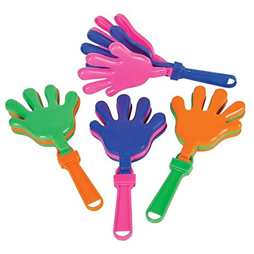 7 5 Plastic Hand Clappers Noisemakers product image