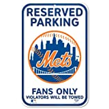 MLB New York Mets 11-by-17 inch Sign