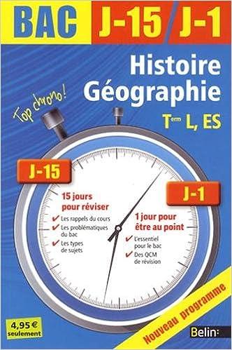 Histoire géo term l es ned 2013 Top chrono! J-15/J-1: Amazon.es: Nicolas Balaresque: Libros en idiomas extranjeros