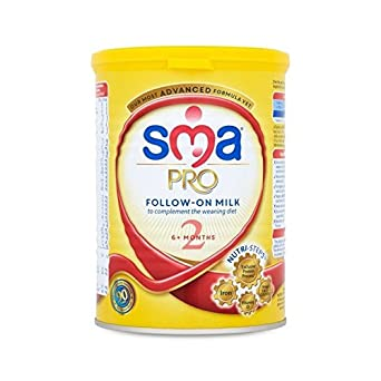 Sma Pro Folgemilch 6Mth + 400G - Packung mit 6