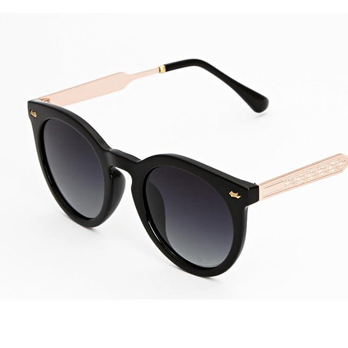 Wkaijc Mode UV Gezeiten Modelle Wild Fein Paar Gradient Sonnenbrillen Sonnenbrillen ,D