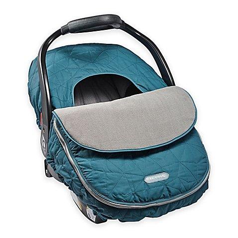 JJ Cole Car Seat Cover, Teal Fractal (Seat Blanket Car)