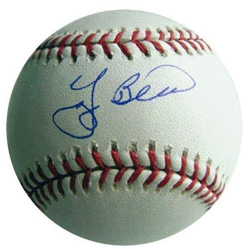 Yogi Berra Autographed MLB Baseball - PSADNA