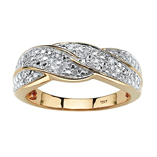 Diamond Braided Ring - 7