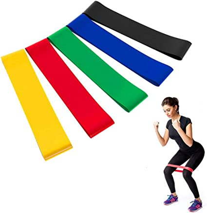 Resistance Bands Home Workout Set Weights Pilates Yoga Rehab Gym