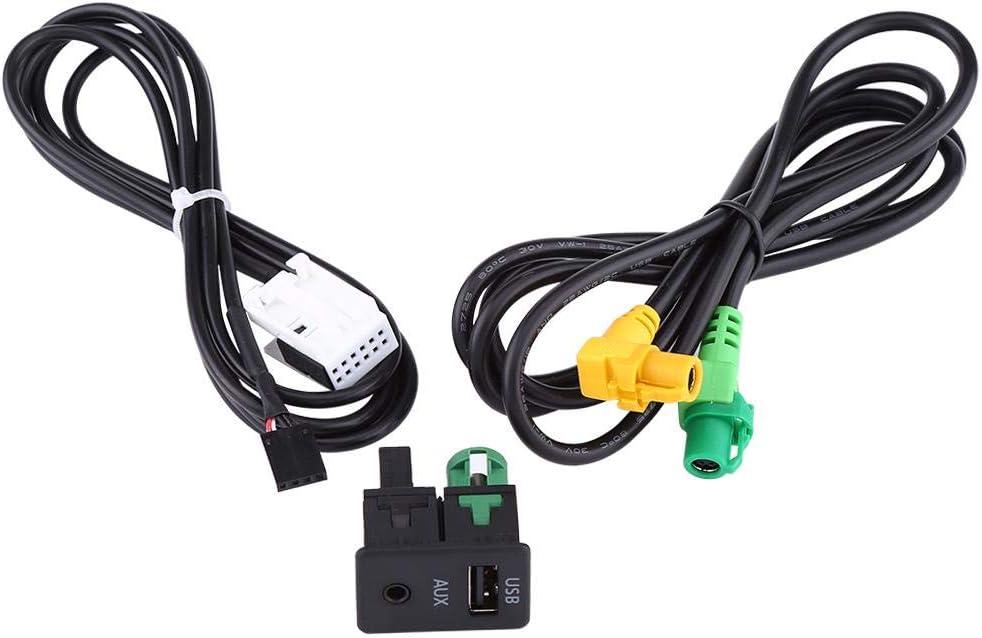 Cable Aux usb para Coche Cable Adaptador usb y Auxiliar para Coche