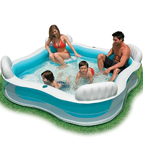 yan Inflatable Bathtub Adult Size Portable Home Spa, Comfortable Bath, Quality Tub - 238 Liter, New Model & Stronger Swimming Pool (Size : 22922966CM) Big Hot Tub