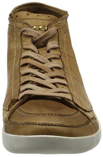 FLY London Tier239fly, Zapatillas Altas para Hombre Marrón (Brown 001)