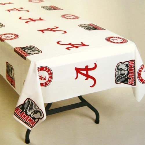 NCAA Alabama Crimson Tide Table Cover, 54-inches by 108-i...
