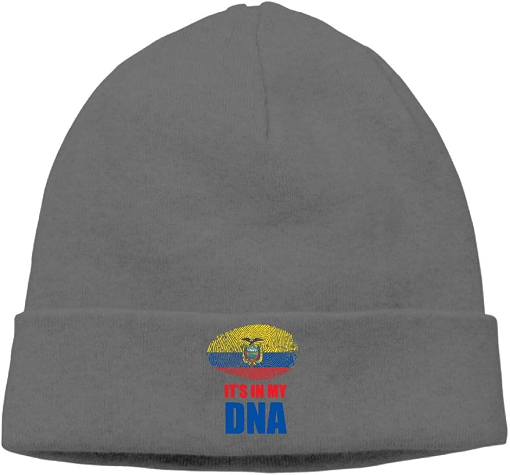 09/&JGJG Ecuadorian Its in My DNA Men /& Women Knit Hat Skull Cap