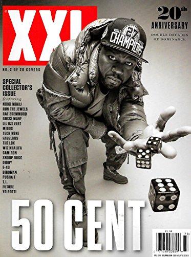 XXL Magazine Fall 2017 50 CENT, Nicki Minaj, Wiz Khalifa, Snoop Dogg, Diddy, TI - Xxl 50 Cent