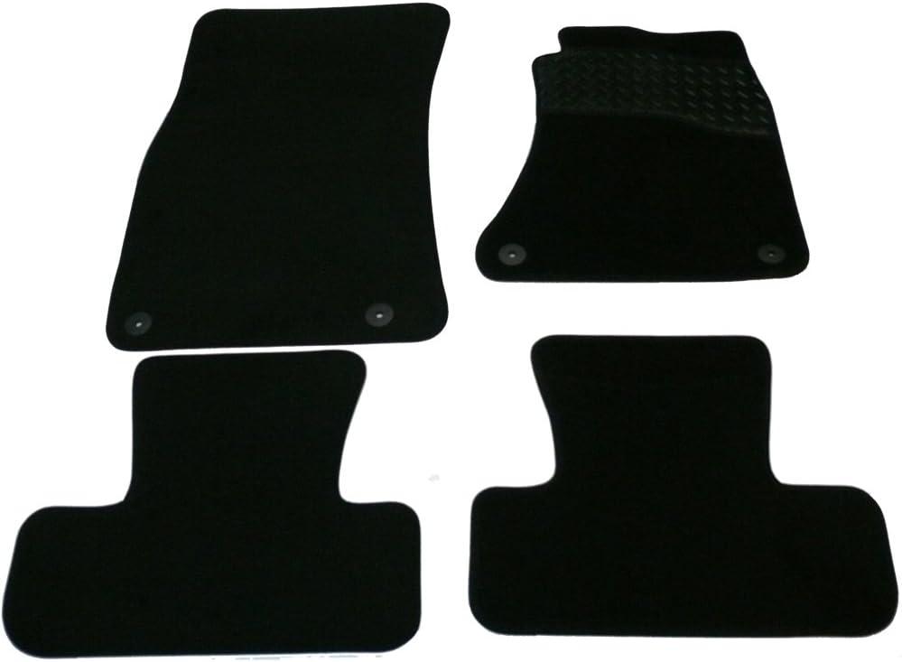 Sakura WW0143 Alfombrillas de Goma con Heelpad Color Negro