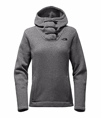 The North Face Women's Crescent Hooded Pullover - TNF Medium Grey Heather - L ()