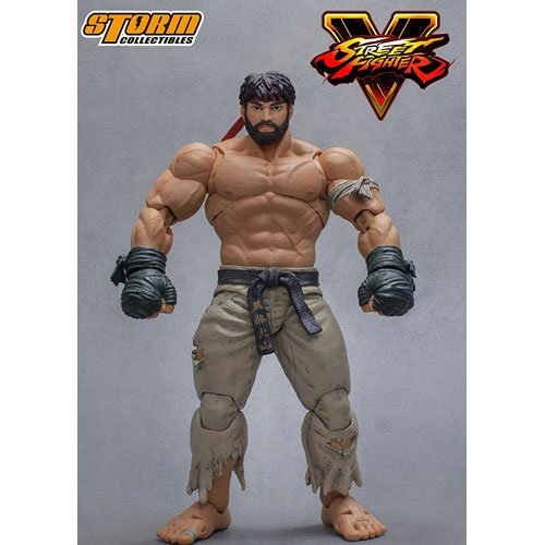 SDCC 2017 Exclusive Storm Collectibles Street Fighter V Hot Ryu 1/12 Scale Action (E Honda Street Fighter Costume)