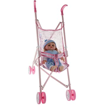 Amazon.es: CUTICATE Modelo Carrito de Bebé Renacido con ...