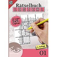 Logical-Rätselbuch 01 (Logical Rätselbuch / Logik-Rätsel, Band 1)