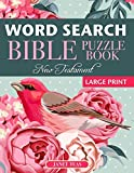 New Testament Bible Word Search Book: 70 Large