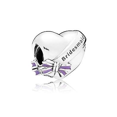 Pandora Women Silver Bead Charm - 797272EN159 DBj4HgdZne