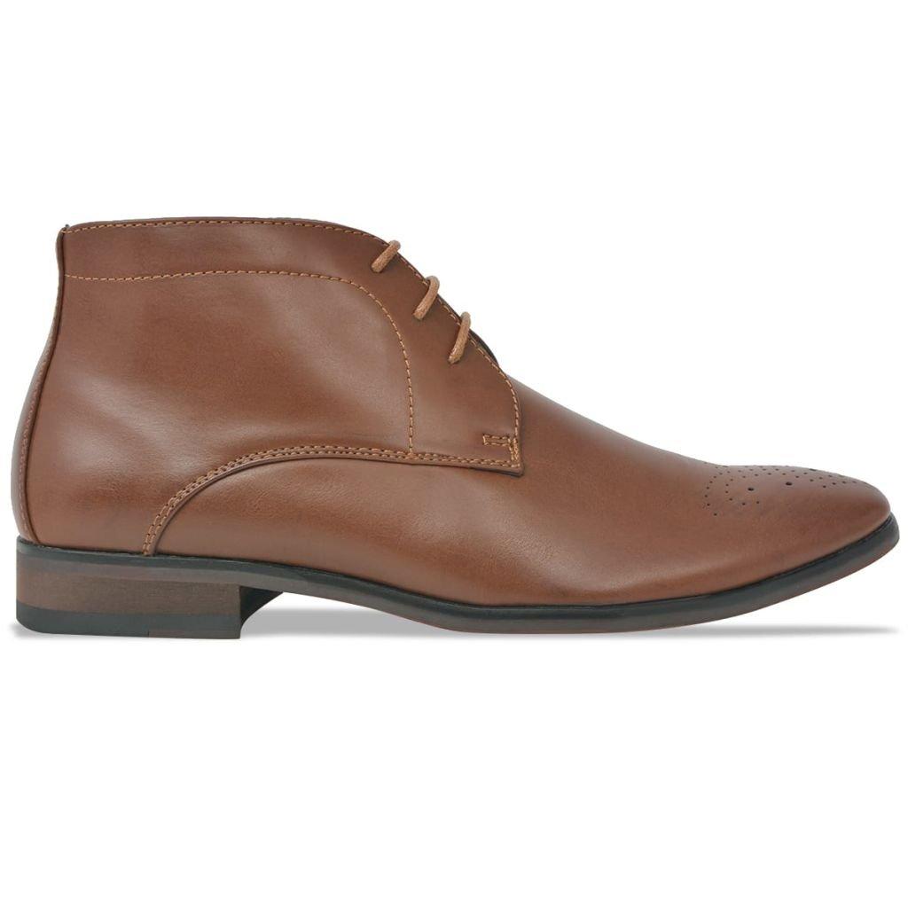 vidaXL Chaussures pour Hommes Cuir PU