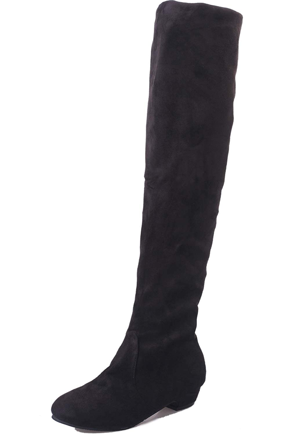 FORTUN Womens Over The Knee Boots Elegant Boots Knight Boots