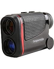 GangnamStyle Golf Entfernungsmesser, Golf-Rangefinder mit Flag-Lock/Abstand/Geschwindigkeit/Winkel/Höhenmessung, ±0.3M Präzision, 6-facher, für Golfsport, Jagd, Klettern, Bogenschießen