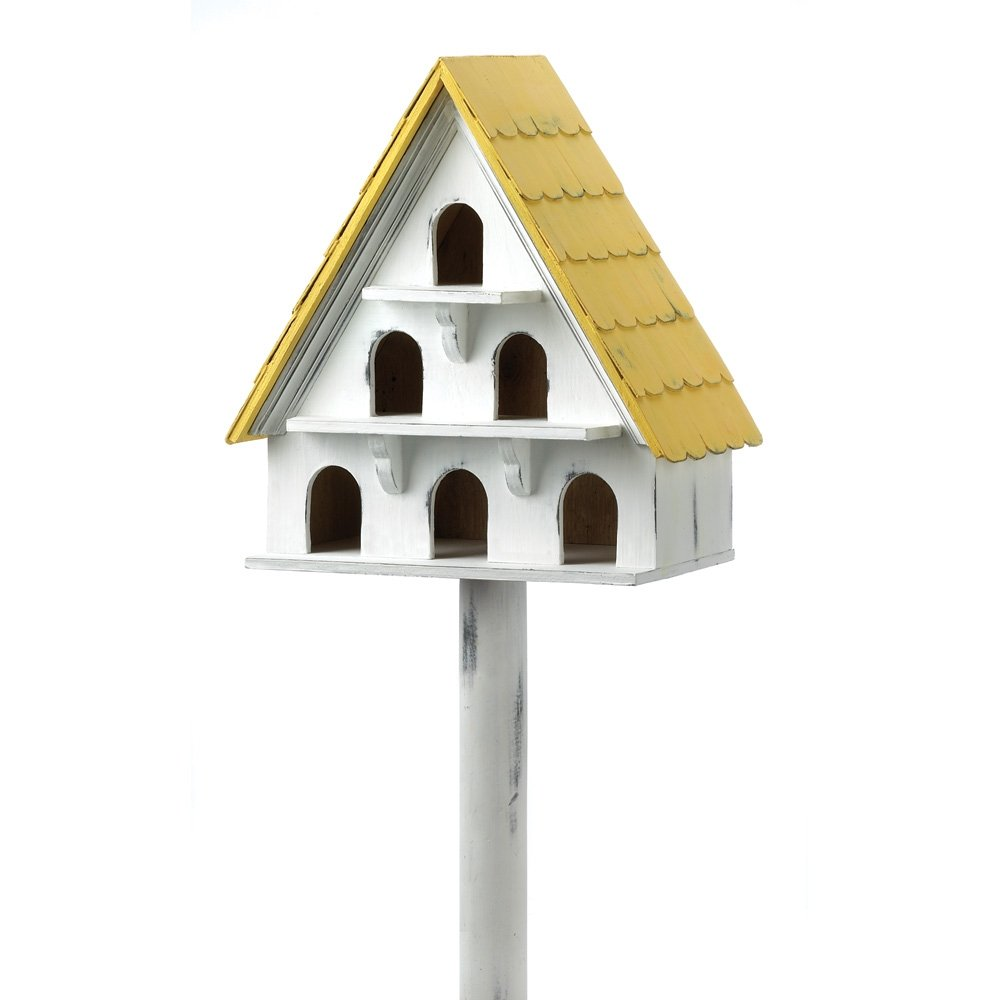 Gifts & Decor Cape Cod Cottage Style Garden Yard Bird House