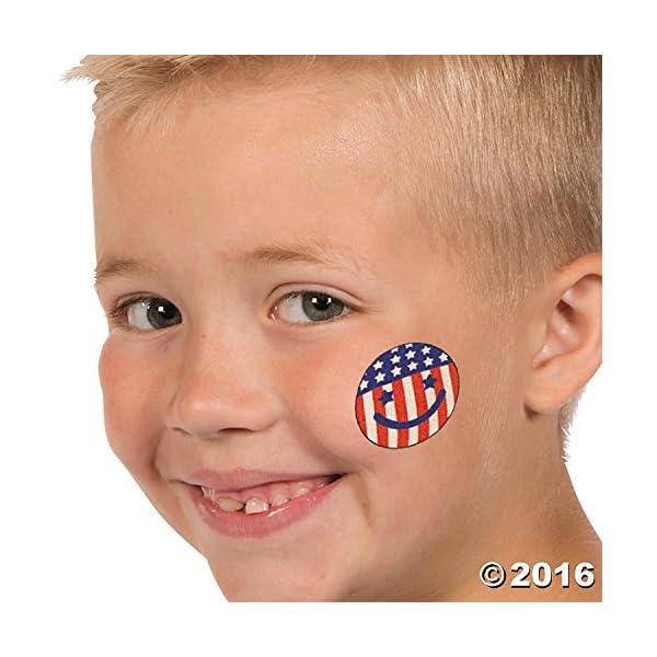 Temporary Patriotic Tattoos Stickers