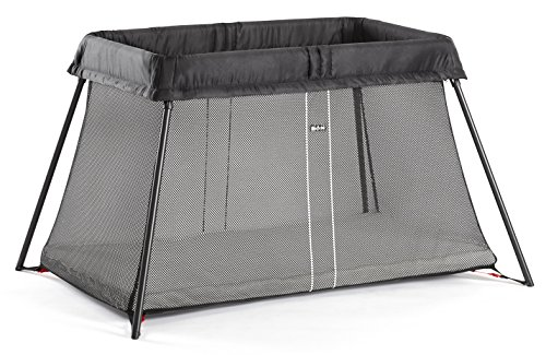 BABYBJORN Travel Crib Light, Black