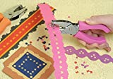 Handheld 1 Hole Paper Pouch Heart Shape Metal Puncher with Anti-Skid Grip for Paper, Binder, DIY Craft, CardStock, Gift Card, Scrapbook, Office Binding Supplies