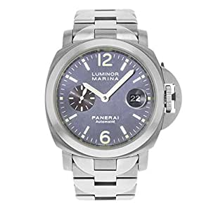 Panerai Luminor Marina automatic-self-wind mens Watch PAM00091 (Certified Pre-owned)