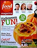 Food Network Magazine October 2010 Halloween Fun! Black & Orange Snacks, Pumpkin Treats, 500 Panini Recipes